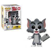 Funko Pop Tom - Desenho Animado Tom e Jerry - Boneco Colecionável