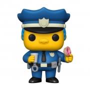 Funko Pop TV The Simpsons Chief Wiggum 899 Boneco Colecionável