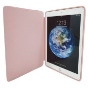 Smart Case Premium Ipad 9.7 2017 Apple A1822 A1823 Sensor Sleep Rosa Claro