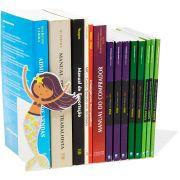 Suporte Aparador de Livros Cd Dvd Temático Sereia Decorativo