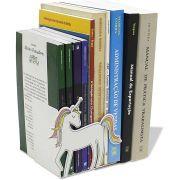 Suporte Aparador de Livros Cd Dvd Temático Unicórnio Decorativo