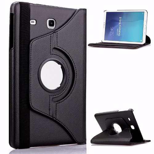 Capa Tablet Samsung Galaxy Tab E 9.6 T560 T561 T565 Sintético Giratória