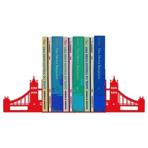 Suporte Aparador de Livros Dvd Cds Temático Ponte de Londres