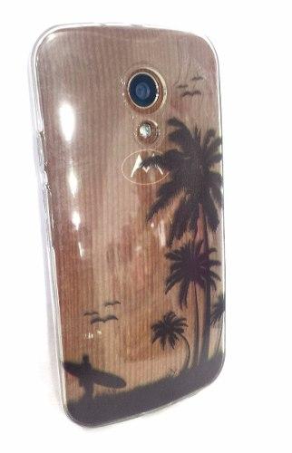 Capa Motorola Moto G 2º Geração Surfista Xt1068 Xt1069 Moto G2