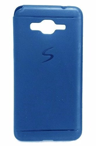 Capa Samsung Galaxy Gran Prime G530 G531 G535 Emborrachada Azul Marinho