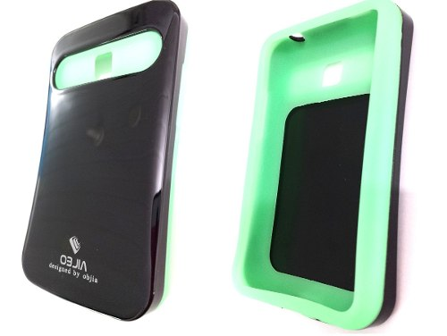 Capa Lg Optimus L3 2 Dual Chip e435 Anti Choque Neon