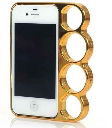 Capa Iphone 4 4s Apple Soco Inglês Munhequeira Lateral