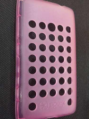Capa Nokia Lumia n520 Flexível Vazada Furinhos
