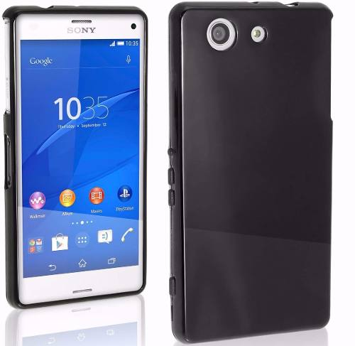 Capa Case Sony Xperia Z3 Mini D5308 Flexível Soft Gel Fumê