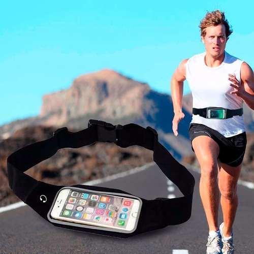 Pochete porta Celular Fitness Corrida Esportes Impermeável