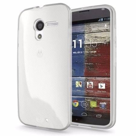 Capa Motorola Moto G Flexível Anti Derrapante 1º Geração Xt1032 Xt1033