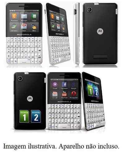Capa Motorola Motorola Motokey Xt Ex118 Ex119 Dual Sim