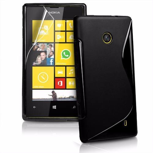 Pelicula Nokia Lumia n520 Transparente Anti Riscos E Resíduos
