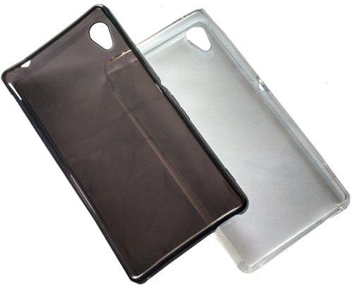Capa Sony Xperia M4 Aqua Flexível Soft Gel Fumê