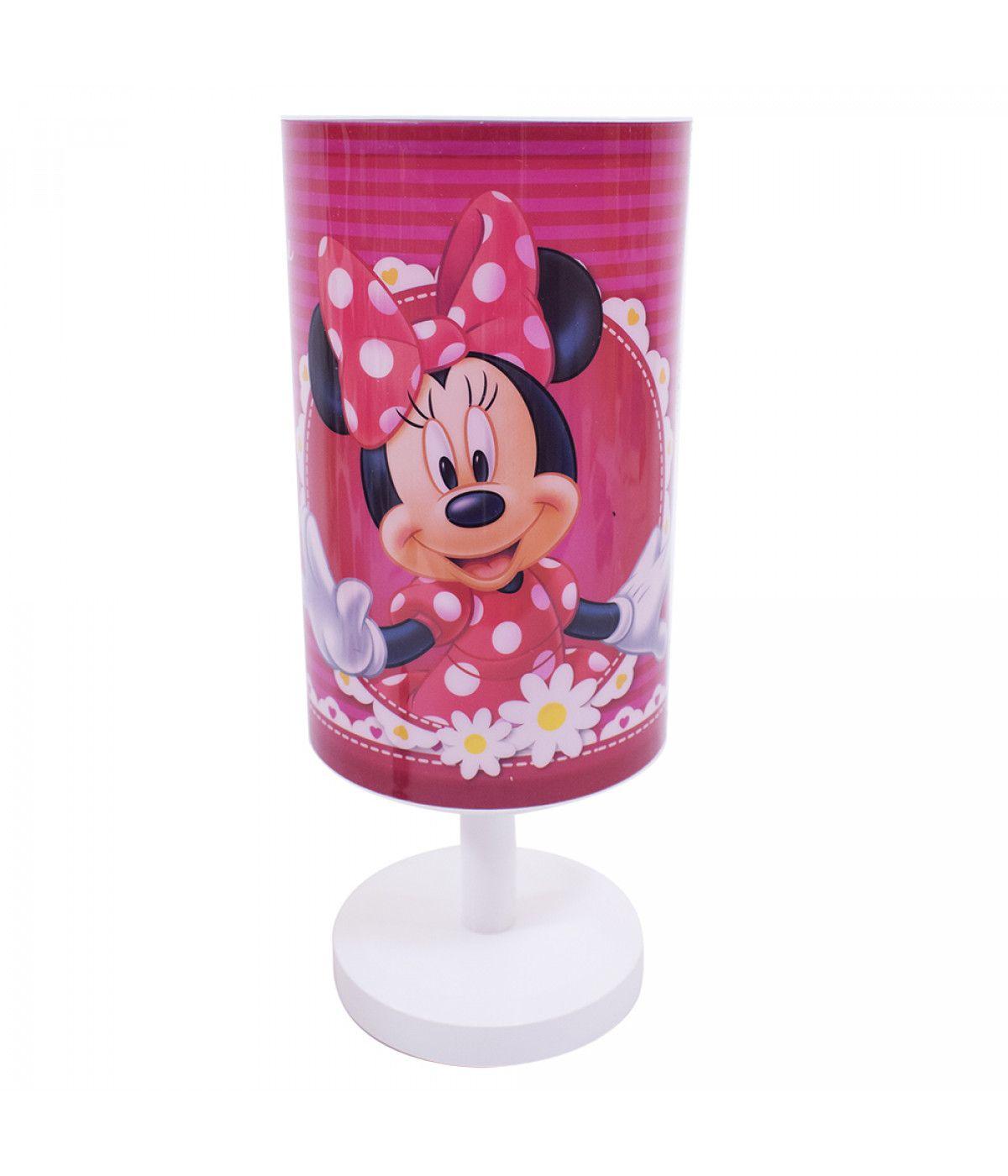 Abajur Luminária de Mesa Disney Minnie Mouse