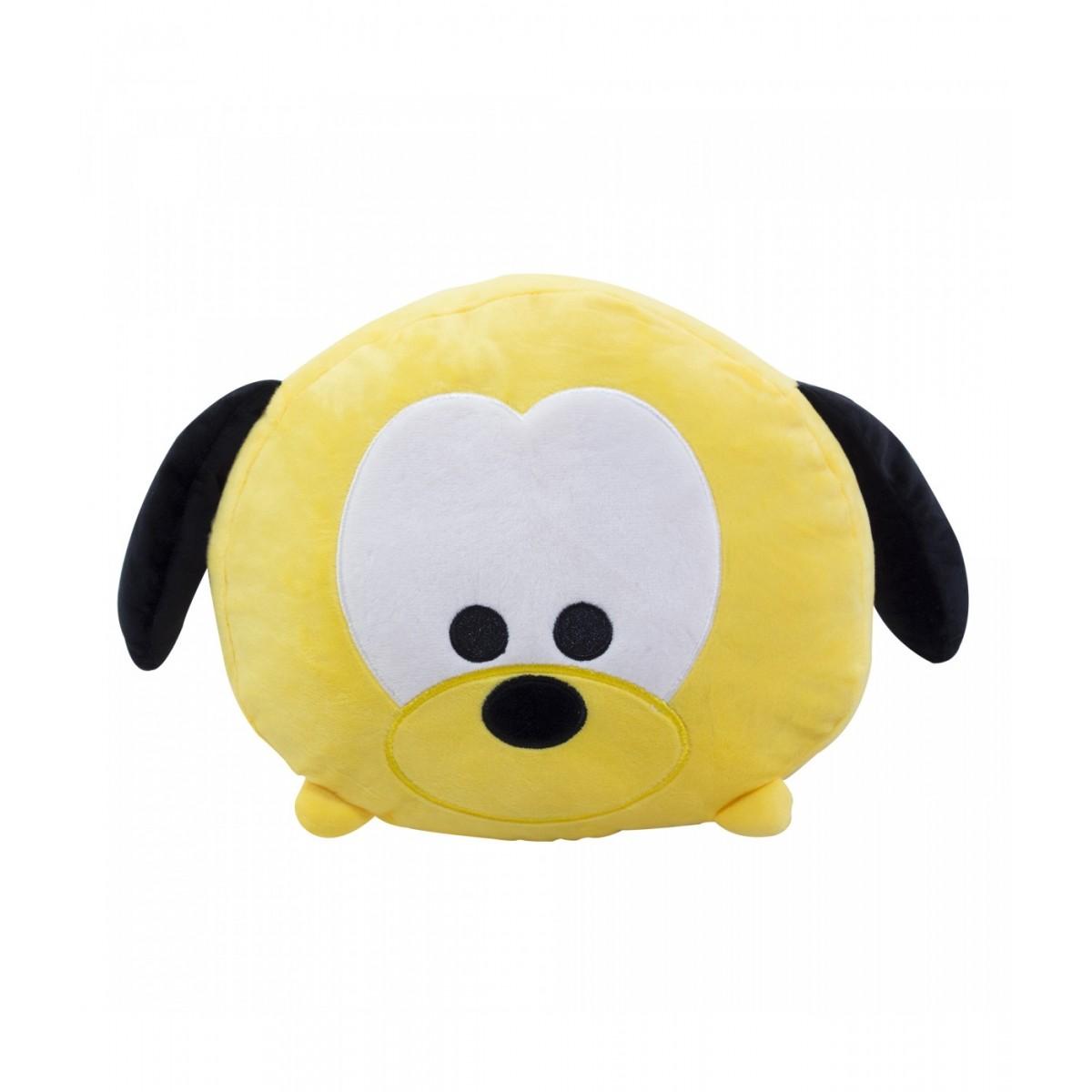 Almofada de Pelúcia Personagem Disney Rosto Pluto 37cm
