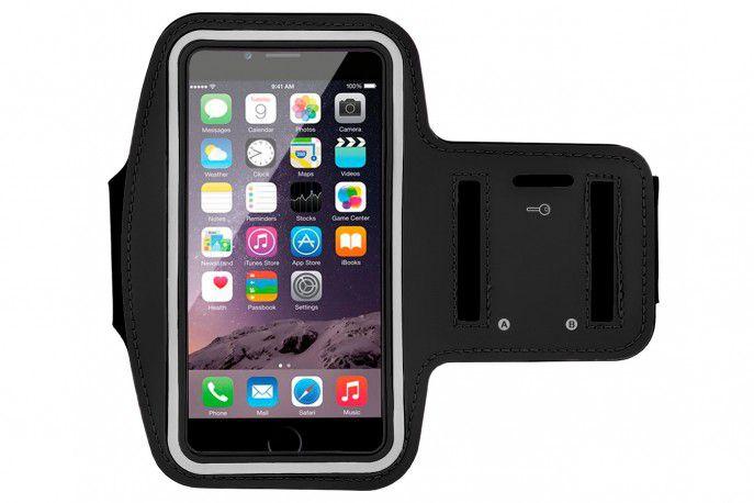 Armband Braçadeira Porta Celular para Corrida - Iphone / Smartphone / Até 5.5