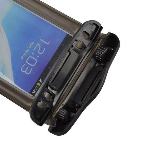 Capa Case Mergulho Impermeável para Celular com Trava de Segurança