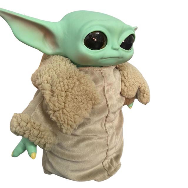 Boneco Baby Yoda The Mandalorian Star Wars Pelúcia 33cm