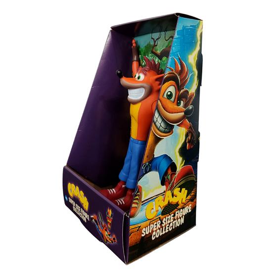 Boneco Crash Bandicoot Personagem Jogo Videogame 25cm