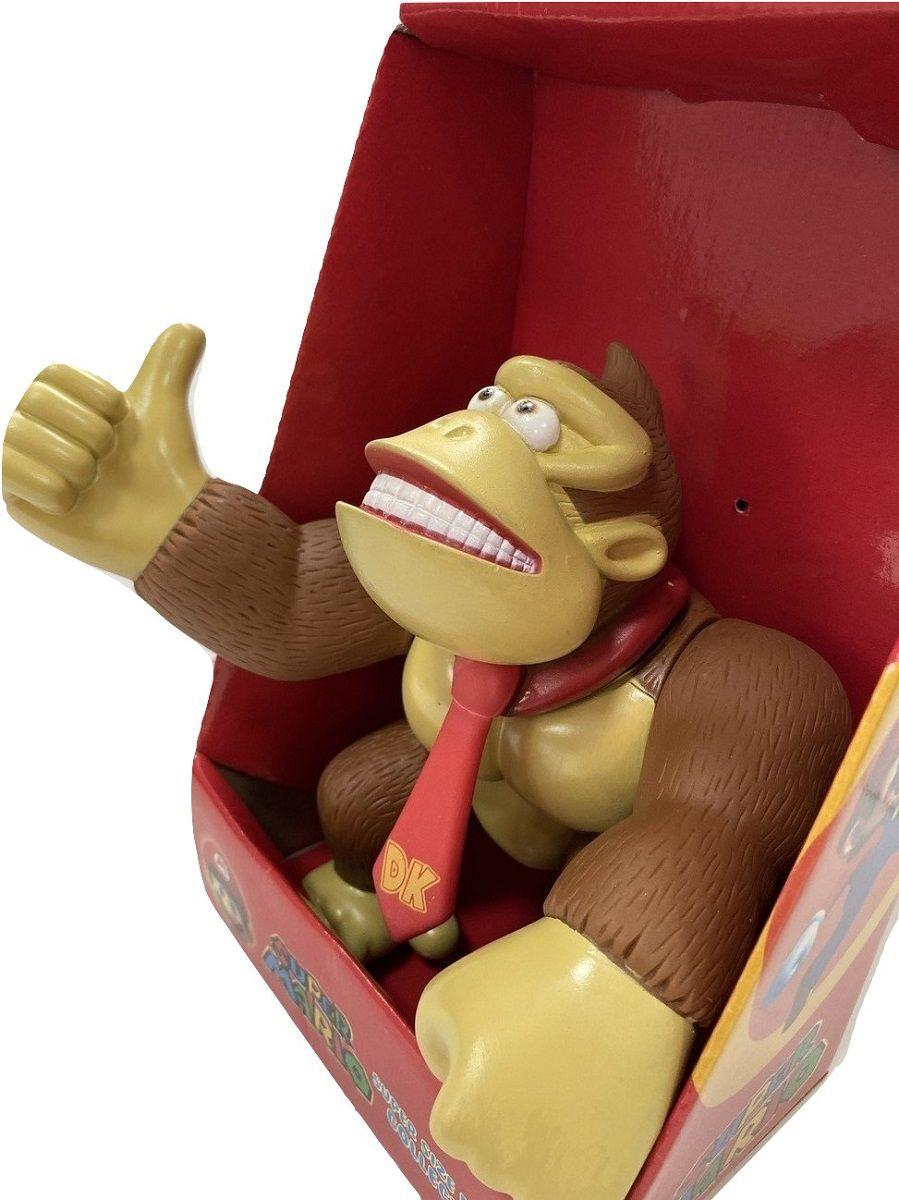 Boneco Donkey Kong Articulado Personagem Jogo Nintendo