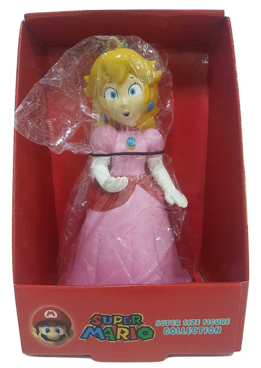 Boneco Princesa Peach Super Mário Personagem Nitendo Coleção Figure Articulado