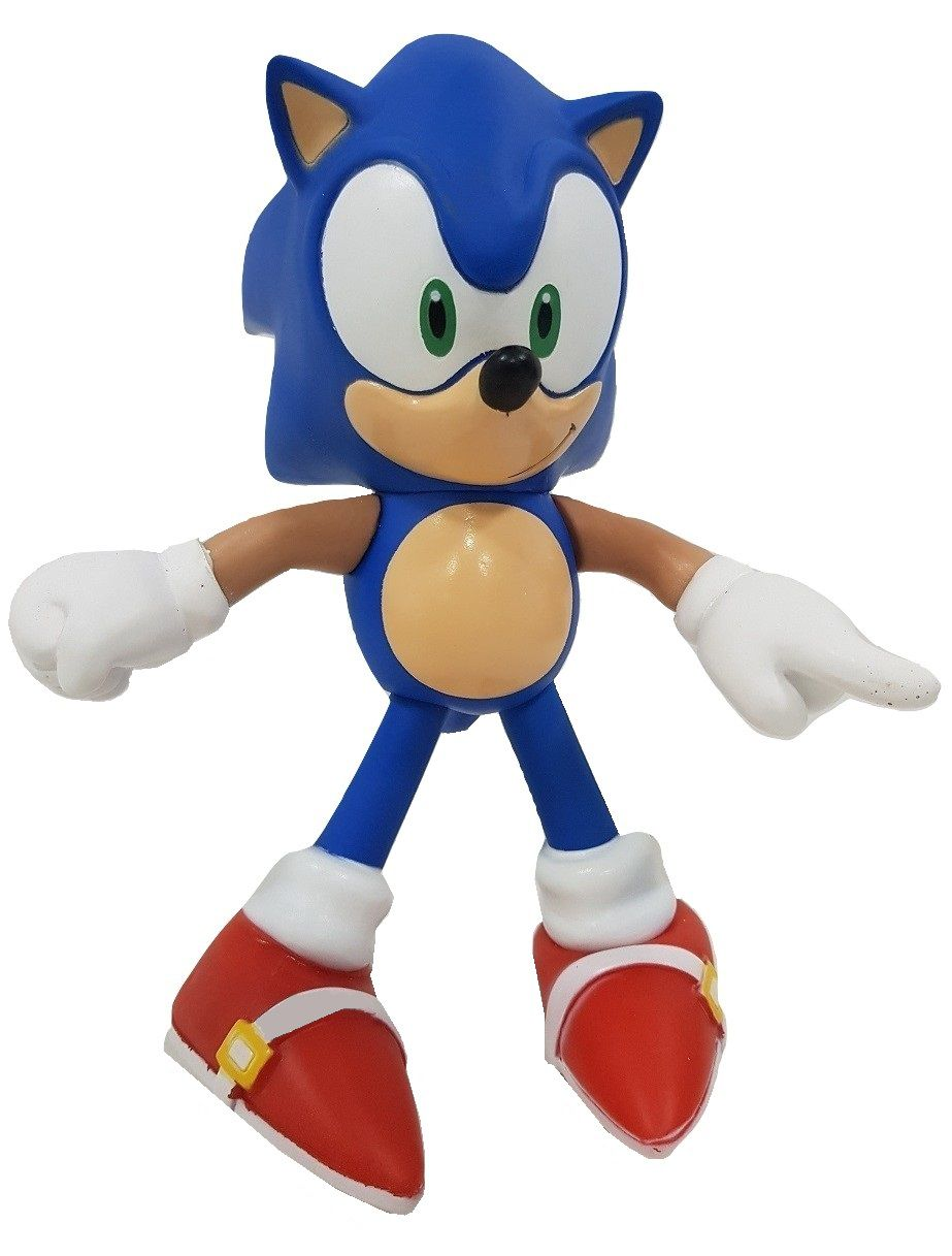 Boneco Sonic Classic Personagem Action Figure Articulado