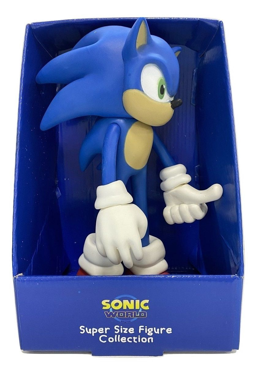 Boneco Sonic Classic Personagem Action Figure Articulado Filme 2020