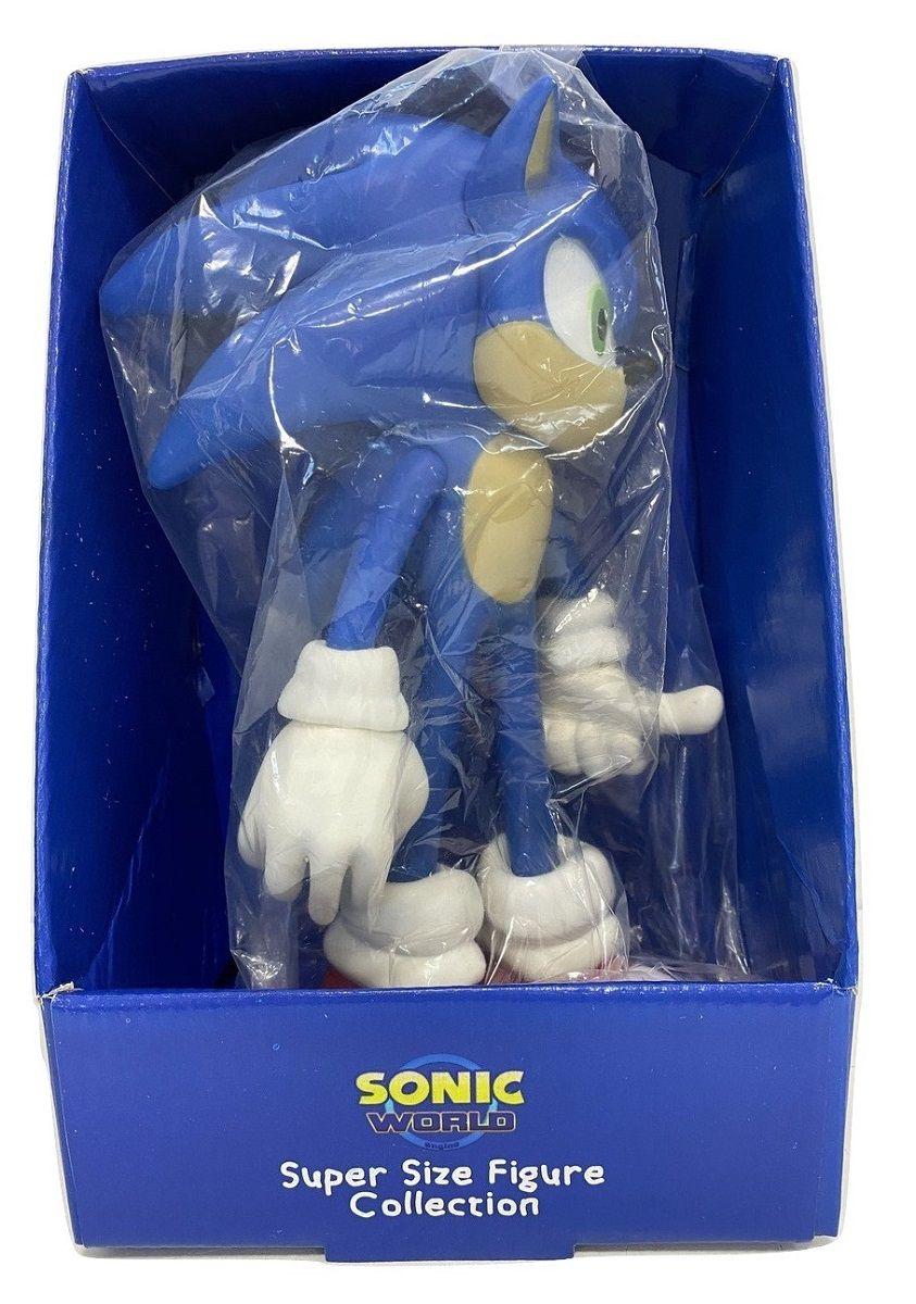 Boneco Sonic Classic Azul Personagem Action Figure Articulado