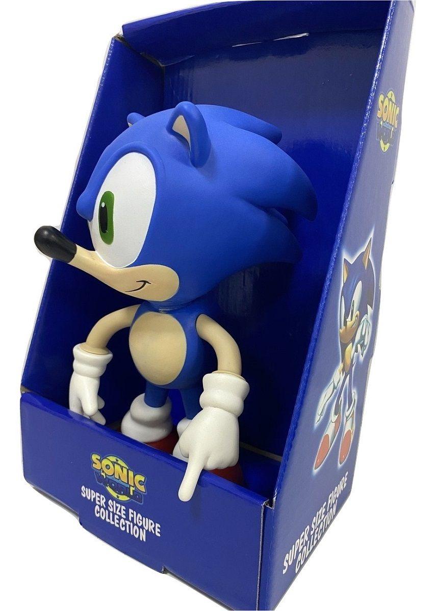 Boneco Sonic Classic Personagem Action Figure Articulado Versão 2