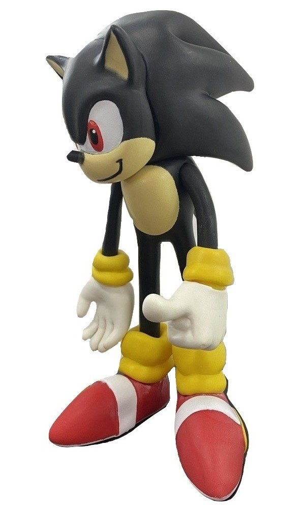 Boneco Sonic Shadow Preto Action Figure Articulado 26cm