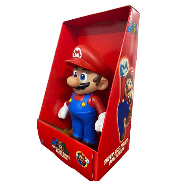 Boneco Super Mario Articulado Personagem Jogo Videogame 25cm