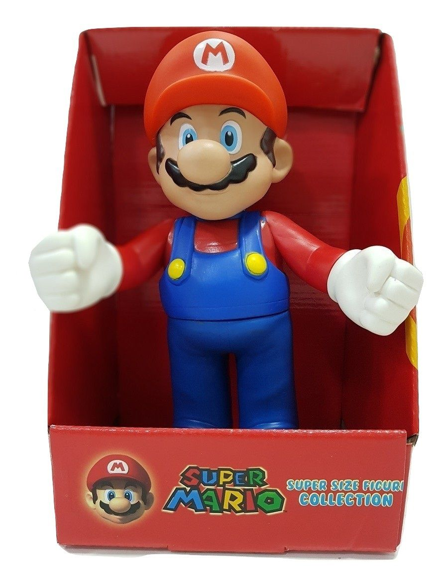 Boneco Super Mario Personagem Coleção Articulado Nintendo