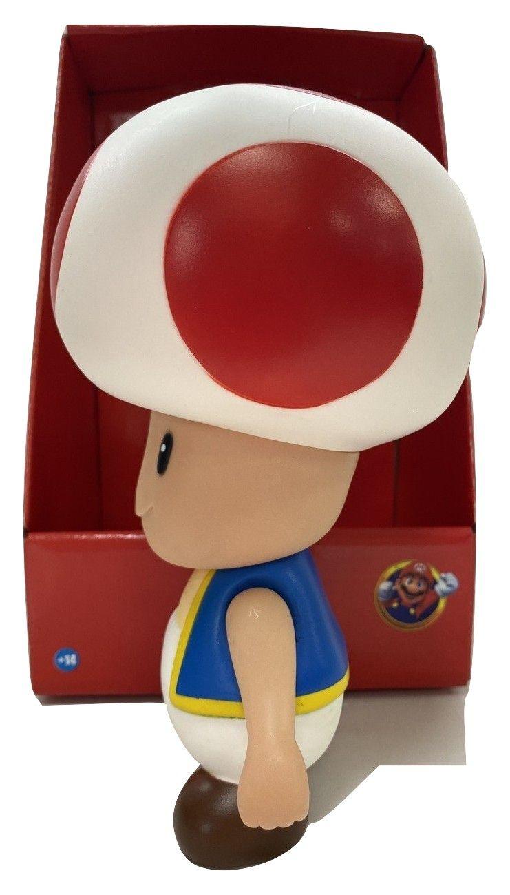 Boneco Toad Super Mario Articulado Personagem Jogo Nintendo