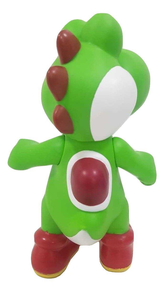 Boneco Yoshi Personagem Nitendo Coleção Figure Articulado