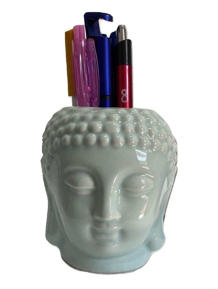 Cachepô Cabeça de Buda Chacepot Vasinho Design Zen