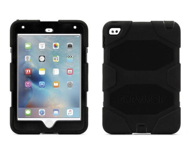 Capa Ipad Mini Anti Impacto e Choque Militar Survivor Blindada