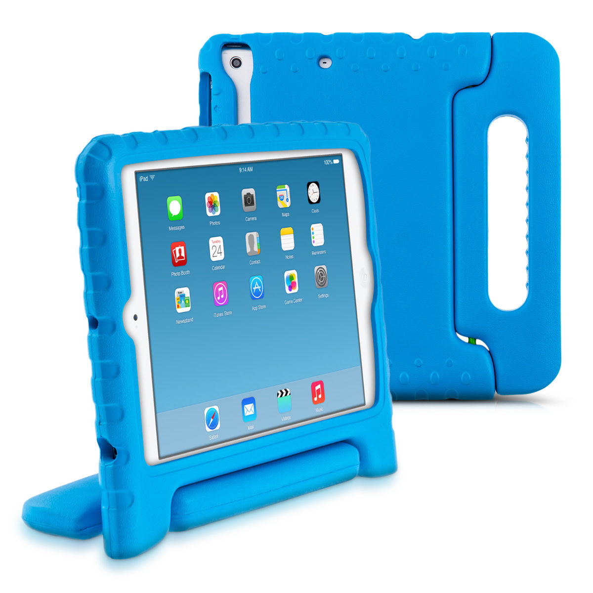 Capa Anti Impacto Ipad Mini 1 2 3 Apple Anti Choque Infantil com Alça