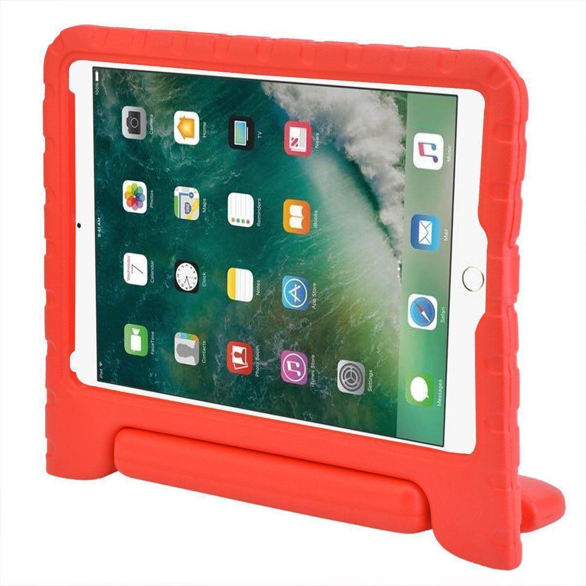 Capa Anti Impacto Ipad 9.7 Apple Ipad 5 A1822 A1823 Infantil com Alça
