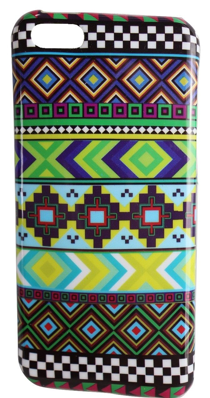 Capa Case Iphone 5c Apple Étnica Tribal Asteca