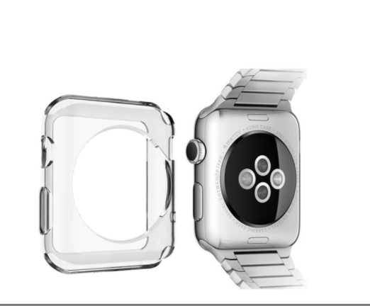 Case para Visor Apple Watch Series 1/2/3/4 Tamanho 42/44mm Bumper Silicone
