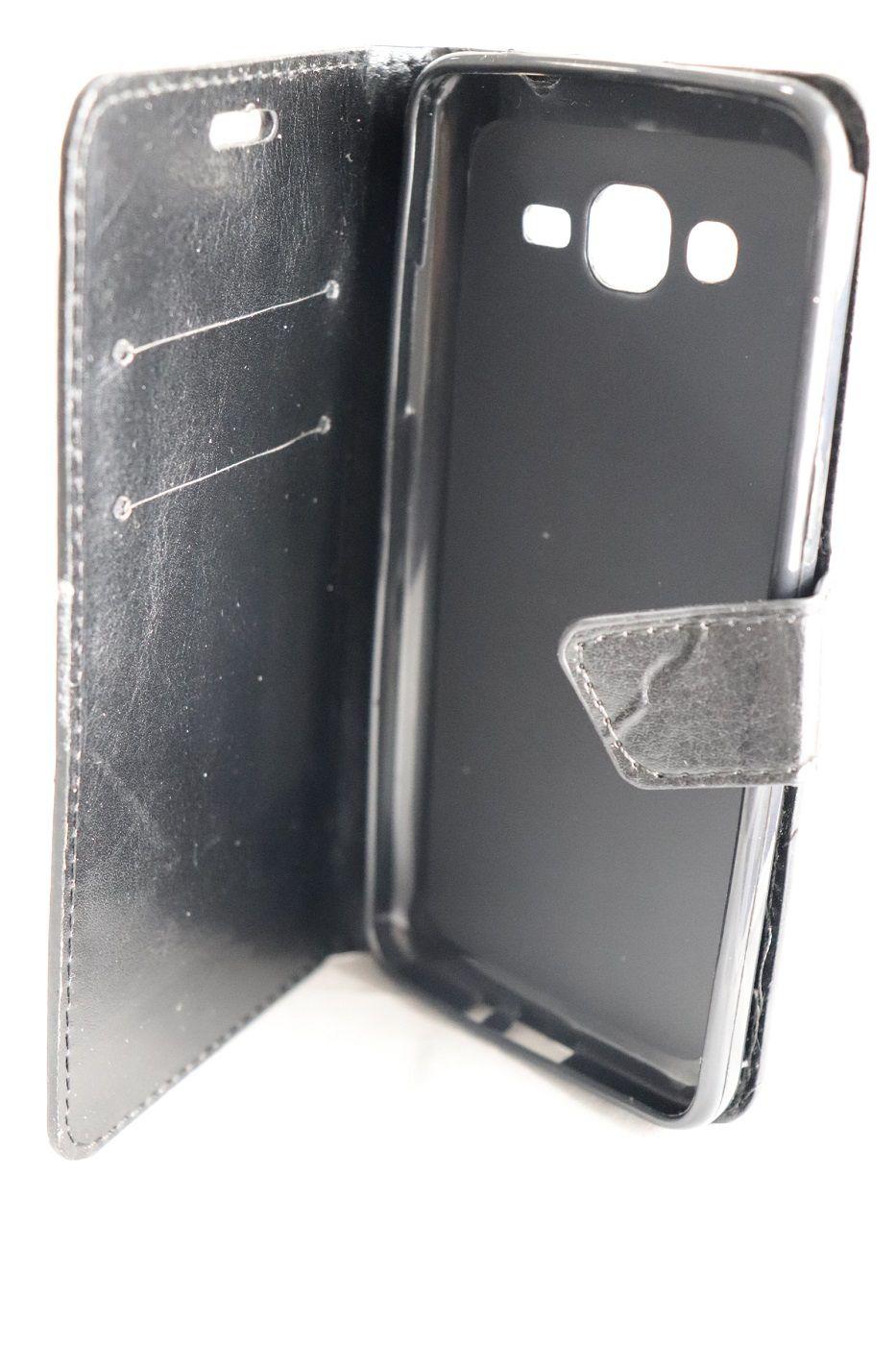 Capa Case para Samsung Galaxy Prime G530 Carteira Magnética Preta