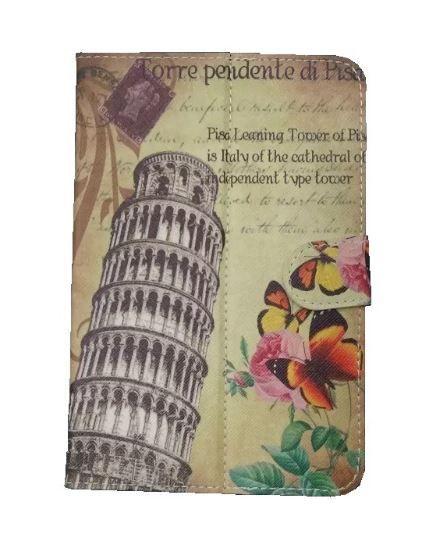 Capa Case Tablet 7 Polegadas Ajustável Torre De Pisa