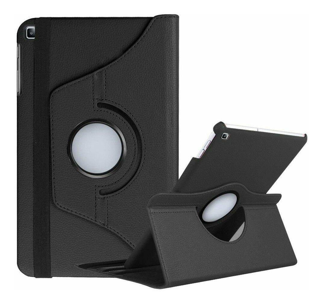 Capa Tablet Galaxy Tab A 2019 10.1 T510 SM-T515N Giratória Rotativa Preta