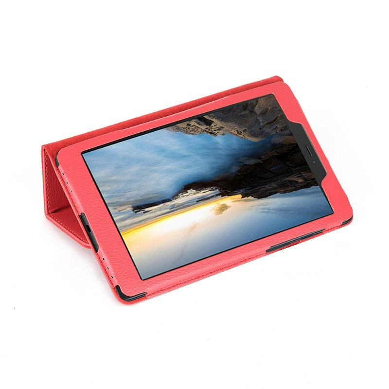 Capa Case Tablet Samsung Galaxy Tab A 8 P290 P295 T290 T295 Pasta Magnética Vermelha