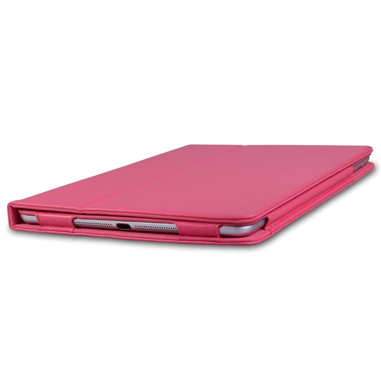 Capa de Ipad 6 Apple 2018 6º geração A1893 A1954 Magnética de Couro Sintético Rosa (Disponibilidade: 5 dias úteis)