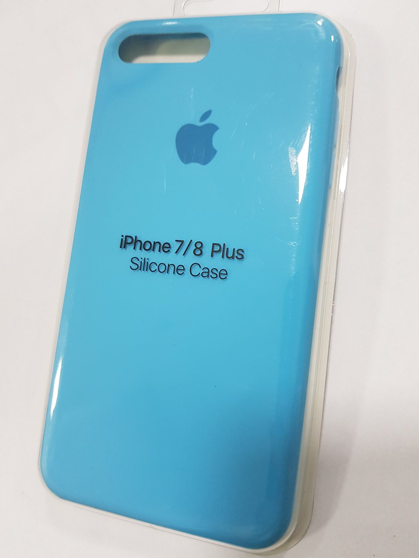 Capa de Silicone para IPhone 7 Plus Apple com Logo Oficial Lacrada