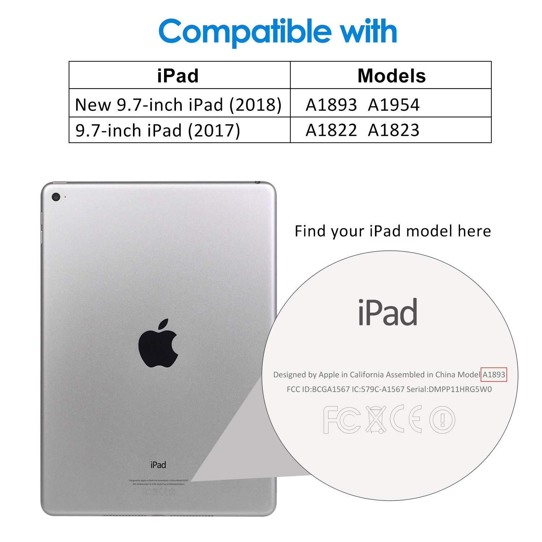 Capa Ipad 6 Apple 9.7 A1893 A1954 Smart Case Magnética Rosa Claro