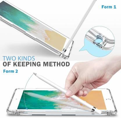 Capa iPad 6 Tela 9.7 A1893 A1954 Traseira de Silicone Reforçado Encaixa Apple Pencil