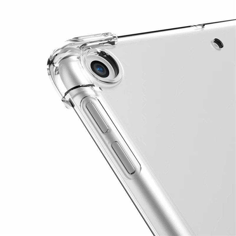Capa iPad 7 10.2 Traseira de Silicone Reforçado A2197 A2198 A2199 (7ª Geração)